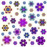 tło kwiaty Zdjęcie Stock