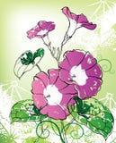 tło kwiaty Zdjęcia Stock