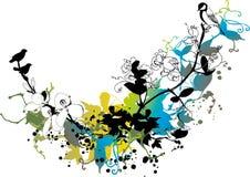tło kwiecisty abstrakcyjne Obrazy Stock