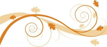 tło kwiecisty jesieni royalty ilustracja