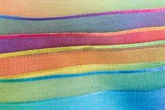 tło lampasy kolorowi horyzontalni Zdjęcia Royalty Free