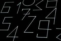 T?o liczby od zero, dziewi?? Liczy tekstur? 3d coloured waluty wysokiego ilustracyjnego wizerunku wielo- postanowienia symbole mn obrazy stock