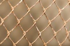 Tło metal siatki ogrodzenie Fotografia Stock