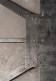 Tło metali talerze Obraz Stock