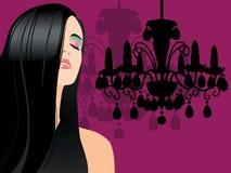 tło moda royalty ilustracja