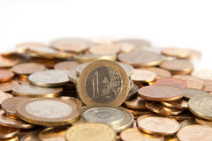 tło monety Obrazy Royalty Free