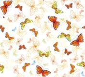 tło motyl Obrazy Stock