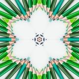 T?o multicolor abstrakcjonistyczny kalejdoskop kolorowy ilustracyjny kalamkari ilustracji