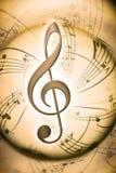 tło musical Zdjęcie Royalty Free