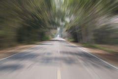 Tło natury droga w lesie Zdjęcia Royalty Free