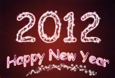 tło nowy rok Zdjęcia Stock
