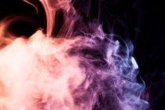 Tło od dymu vape Zdjęcie Royalty Free