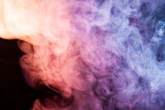 Tło od dymu vape Fotografia Royalty Free