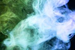 Tło od dymu vape Zdjęcia Stock
