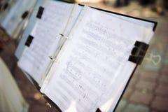 tło ostrej muzyki Obraz Royalty Free