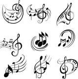 t?o ostrej muzyki ilustracji
