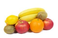 Tło owoc i warzywo Zdjęcia Royalty Free