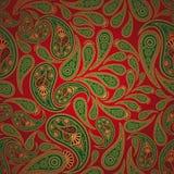 tło Paisley bezszwowy Obrazy Royalty Free