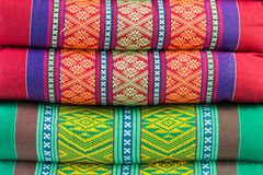 Tło - pasiaste poduszki Obraz Stock