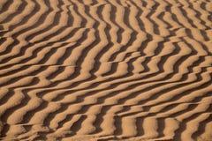Tło piasek diuny Zdjęcia Royalty Free
