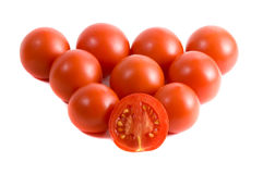 tło pomidor Fotografia Royalty Free