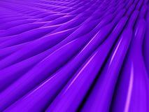 Tło purpurowe 3d abstrakta fala Zdjęcie Stock
