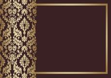 Tło rocznika kwiecisty wektor Obraz Royalty Free