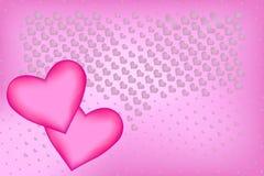 tło romantyczny Obraz Stock