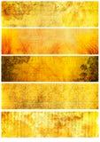 tło sztandarów grunge tekstury Obraz Stock