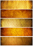 tło sztandarów tekstur rocznik Obraz Stock