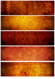 tło sztandarów tekstur rocznik Zdjęcia Stock
