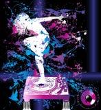 tło tancerz Obraz Stock