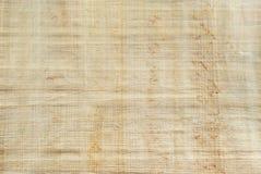 Tło, tekstura: powierzchnia naturalny Egipski papirus Zdjęcia Stock