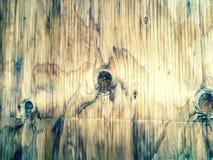 Tło tekstura stary akacjowy drewno Obrazy Royalty Free