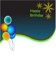 Tło urodziny Fotografia Stock
