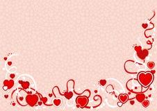 tło valentines Fotografia Stock