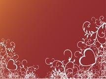 tło valentines Zdjęcia Royalty Free
