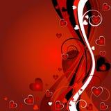 tło valentines Obraz Royalty Free