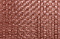 Tło warkocz tekstylna rzemienna tekstura Obrazy Stock