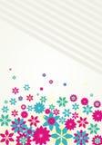 tło wektor kolorowy kwiecisty Obraz Stock