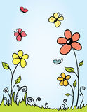 tło wiosna Zdjęcia Stock