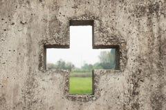Tło wizerunku tematu cement Obrazy Stock
