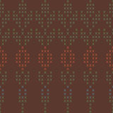Tło z abstrakcjonistycznym dzianie wzorem Zdjęcie Stock