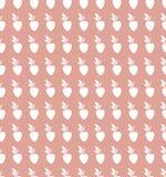 Tło z abstrakcjonistycznym jagoda wzorem Obrazy Stock
