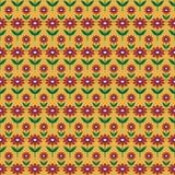 Tło z abstrakcjonistycznym kwiatu wzorem Zdjęcia Royalty Free