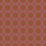 Tło z abstrakcjonistycznym kwiatu wzorem Obraz Royalty Free