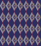 Tło z abstrakcjonistycznym rhombus Obrazy Stock
