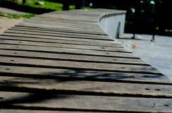 Tło z drewnianymi deskami Zdjęcia Stock