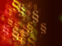Tło z kolorowymi akapitami, bokeh, z miejscem dla teksta Zdjęcia Royalty Free