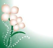 Tło z kwiatami Zdjęcie Stock